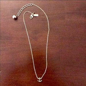 Late Spade Anchor Necklace